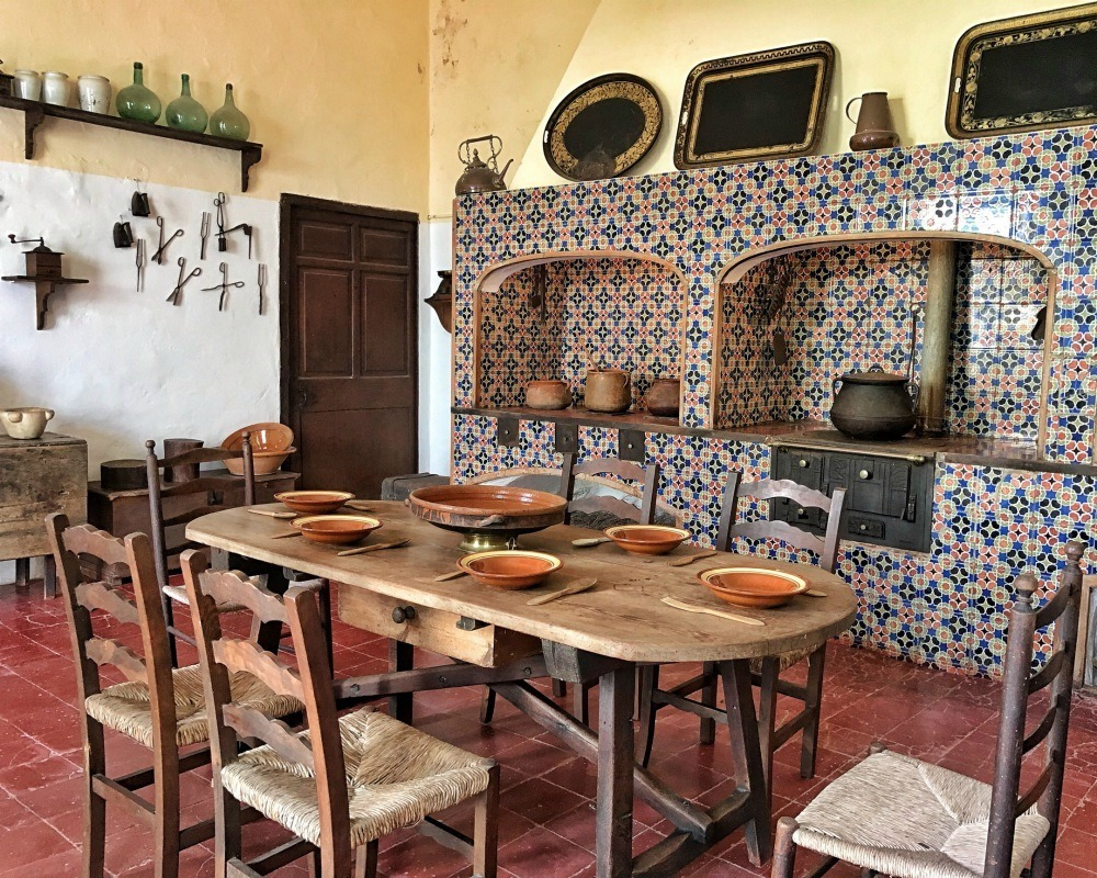 Palau Salort kitchen in Ciutadella Menorca Spain Photo Heatheronhertravels.com