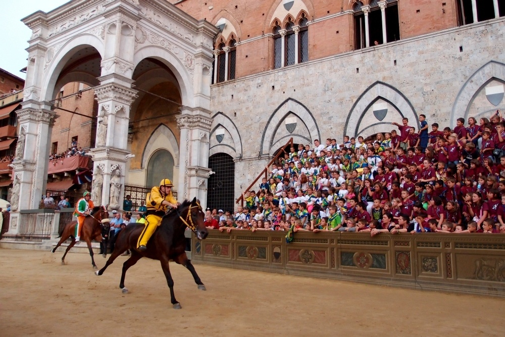 Palio in Siena Italy Photo bearinthenorth