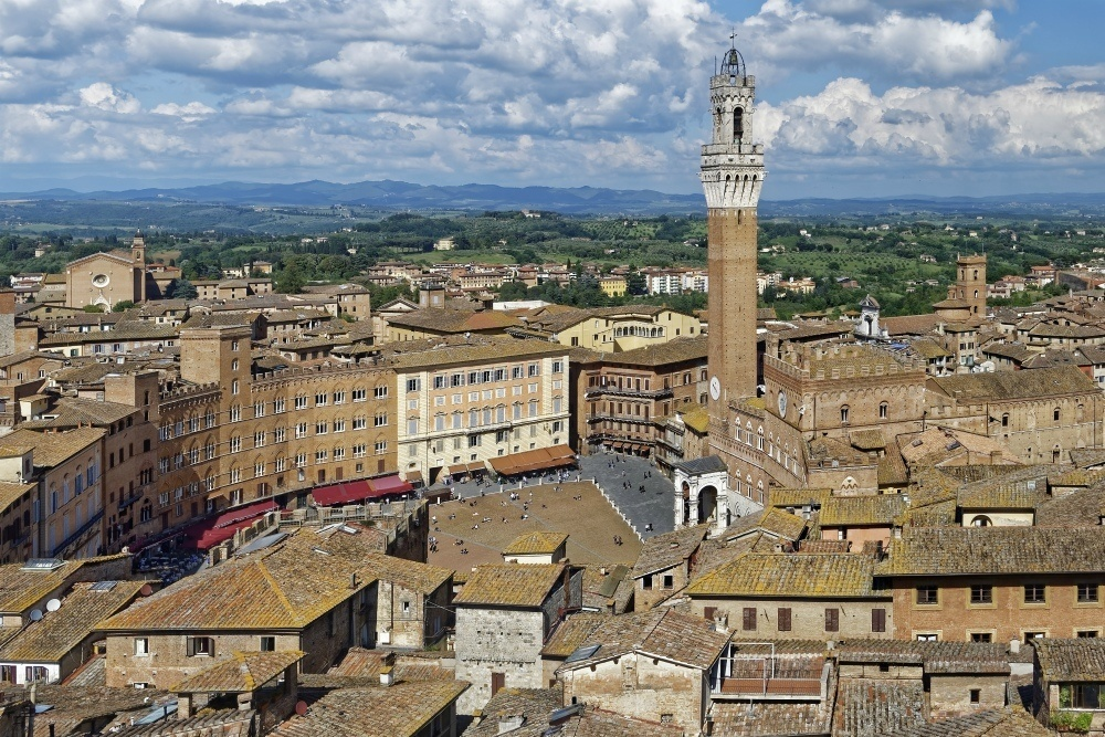 Florence day trips - Siena Italy Historic Centre