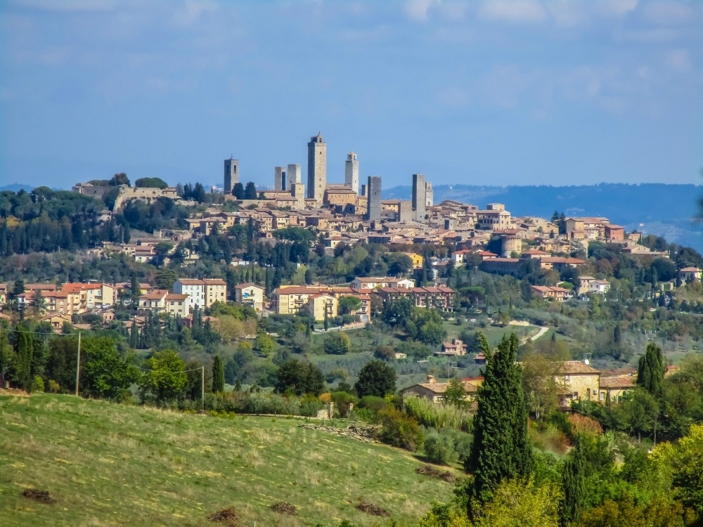 san-gimignano-in Italy Photo by baumbachwittenberg on Pixabay