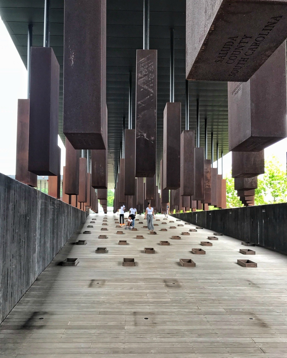 National Memorial for Peace and Justice Montgomery Alabama Photo Heatheronhertravels.com