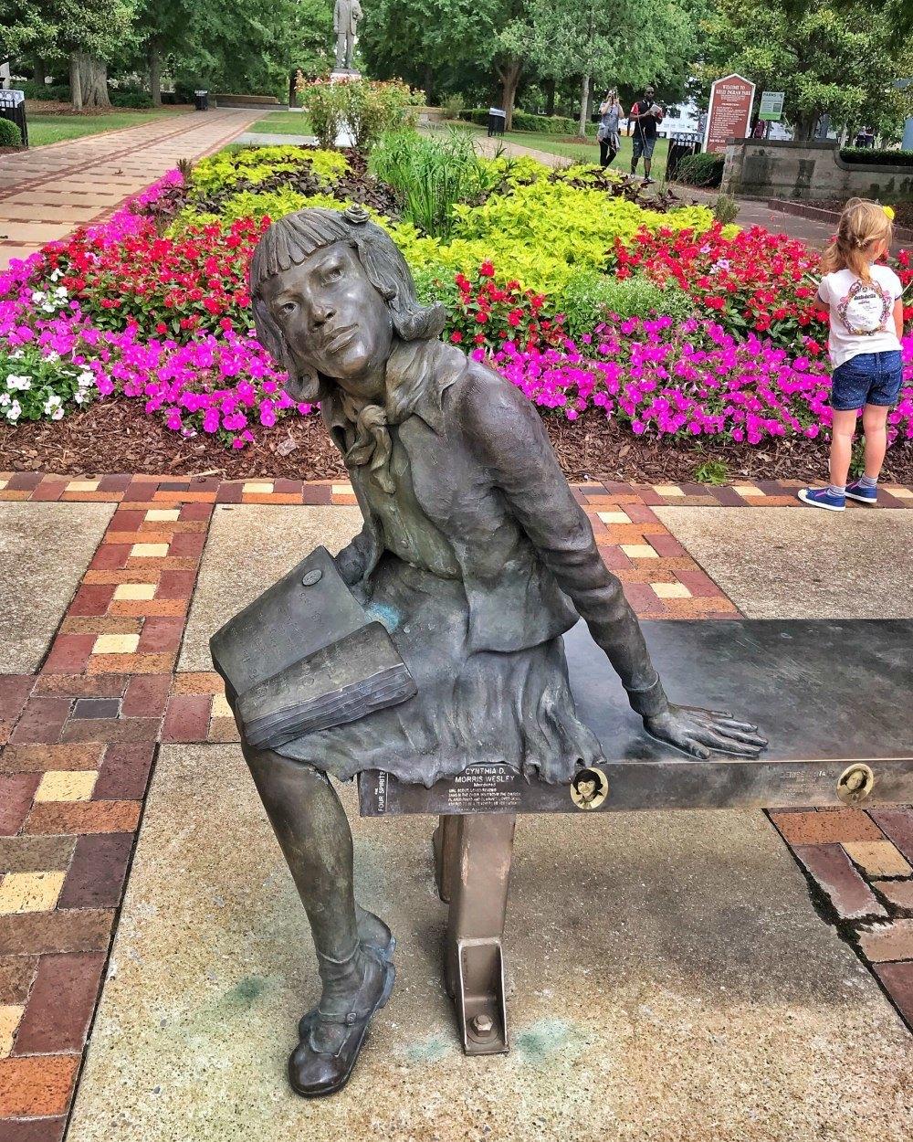 Kelly Ingram park Birmingham Alabama Photo Heatheronhertravels.com