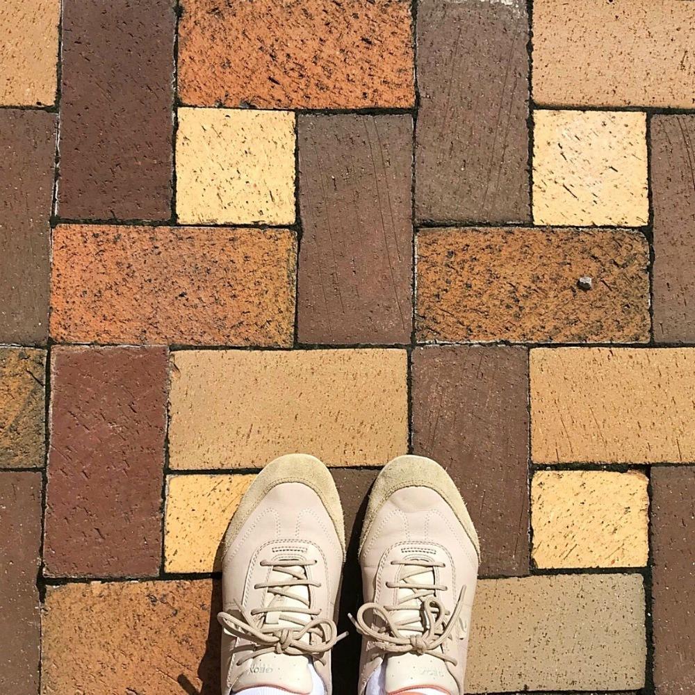 Courtyard of Birmingham Civil Rights Institute in Alabama Photo Heatheronhertravels.com