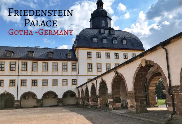 Schloss Friedenstein in Gotha, Germany