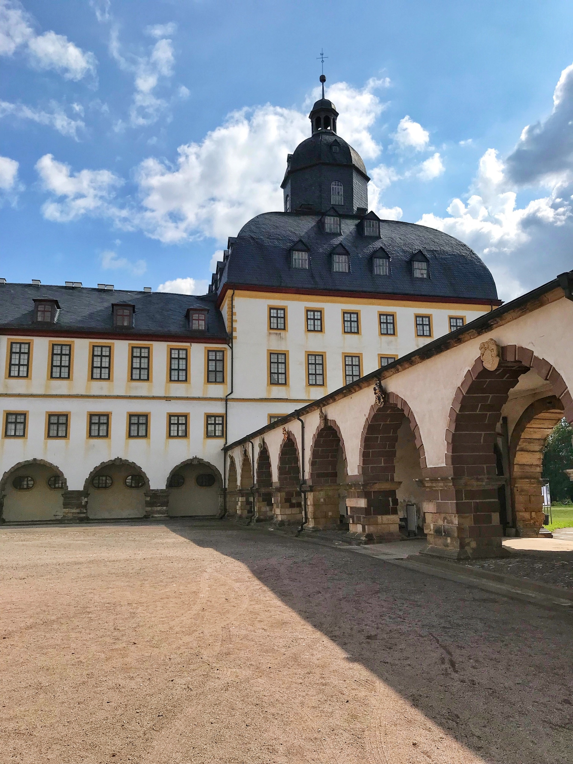 Schloss Friedenstein in Gotha, Germany