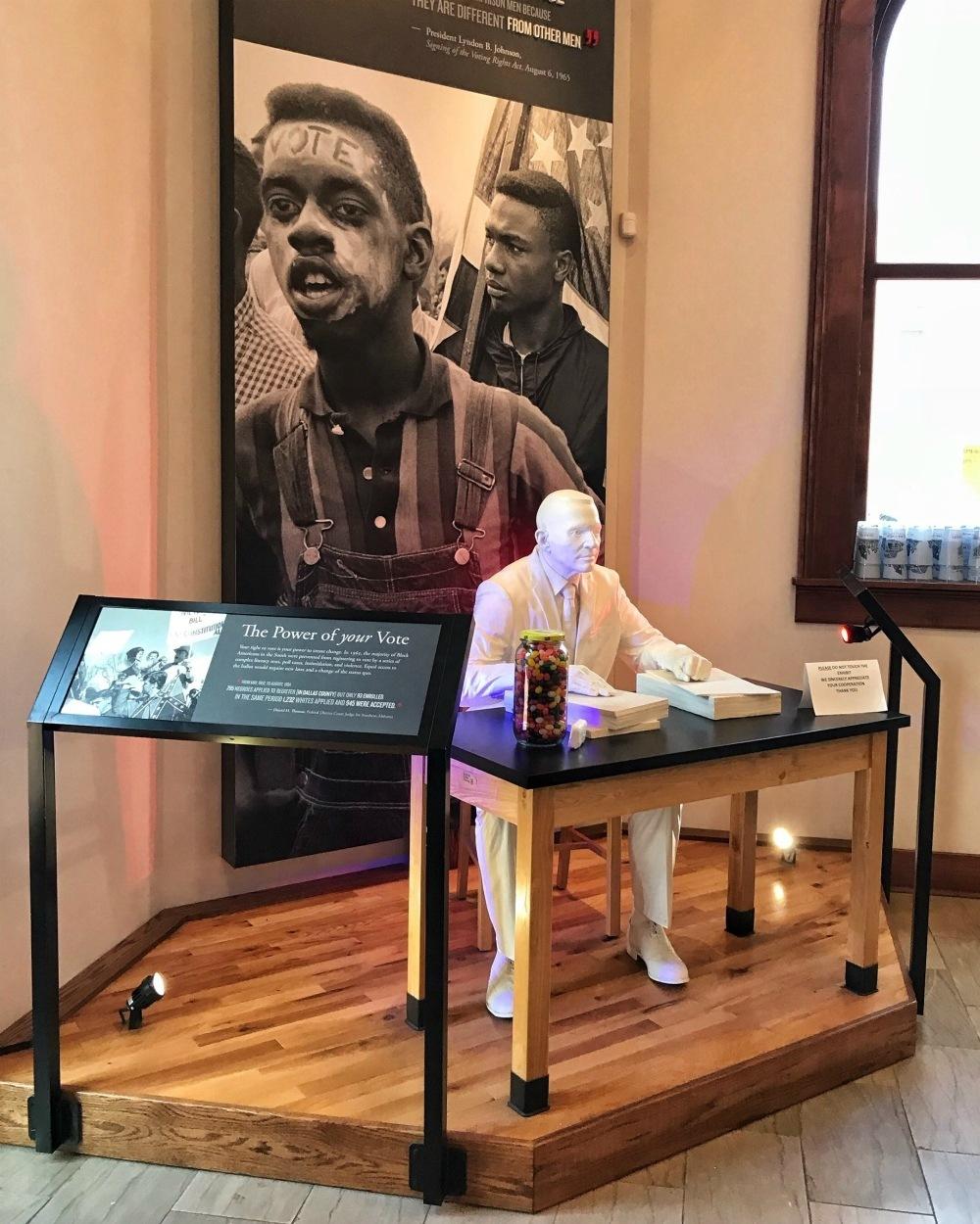 Selma Interpretive Centre in Alabama Photo Heatheronhertravels.com