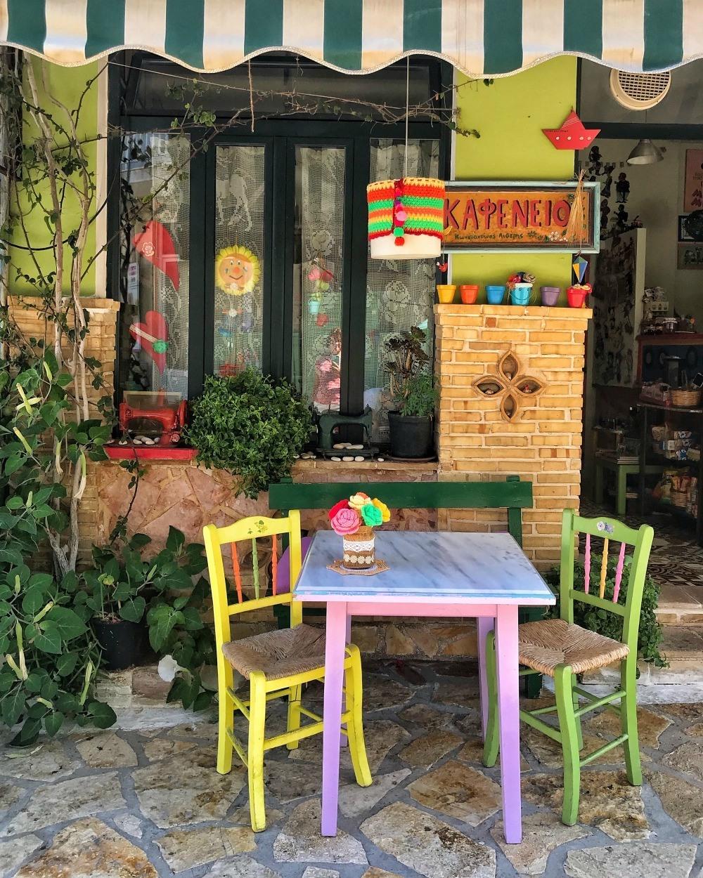 Cafe in Keri Zakynthos Photo Heatheronhertravels.com