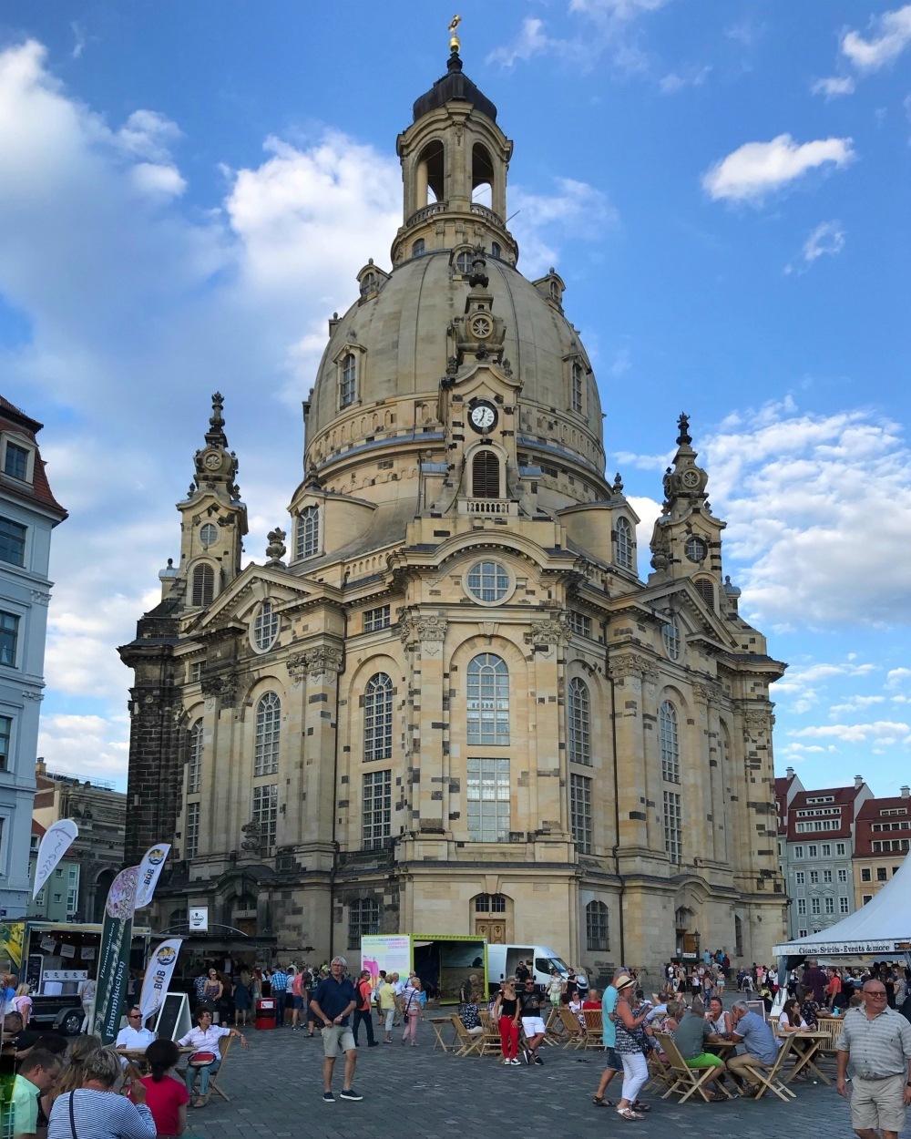 Frauenkirche in Dresden Photo Heatherpnhertravels.com