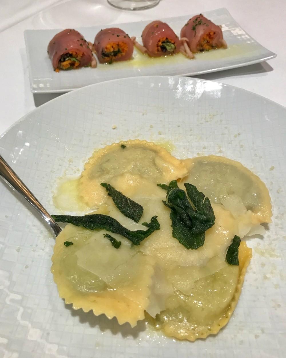 Onda by Scarpetta Italian dining on Norwegian Encore Photo Heatheronhertravels.com