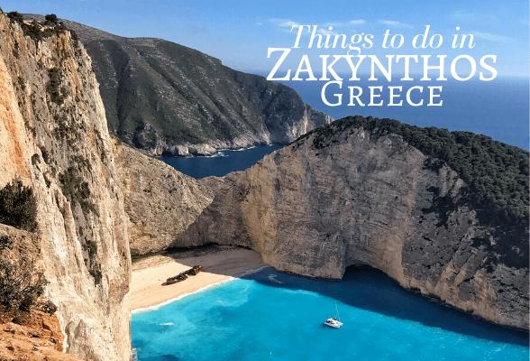 Things to do in Zakynthos Greece