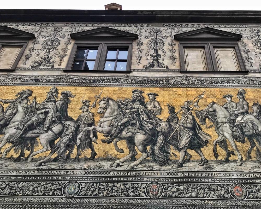 Fürstenzug in Dresden Photo Heatheronhertravels.com