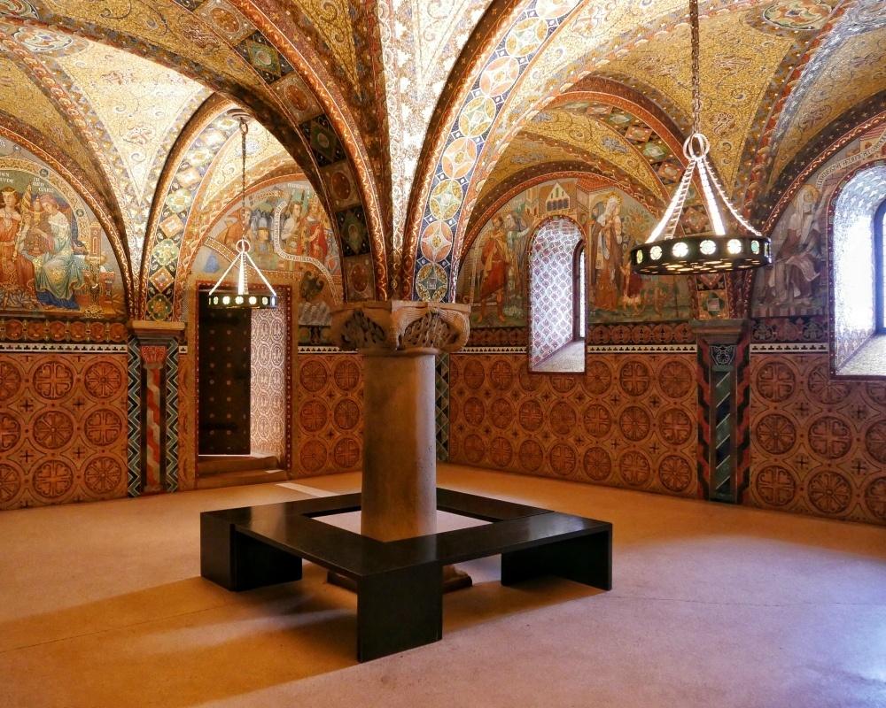 Elizabeth Chamber in Wartburg Castle in Eisenach Thuringia Photo Heatheronhertravels.com
