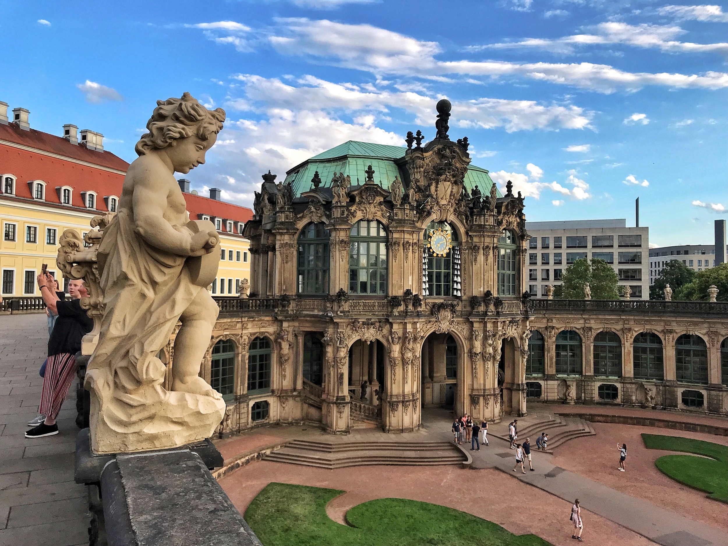 Things to do in Dresden - Zwinger Palace in Dresden Photo Heatheronhertravels.com