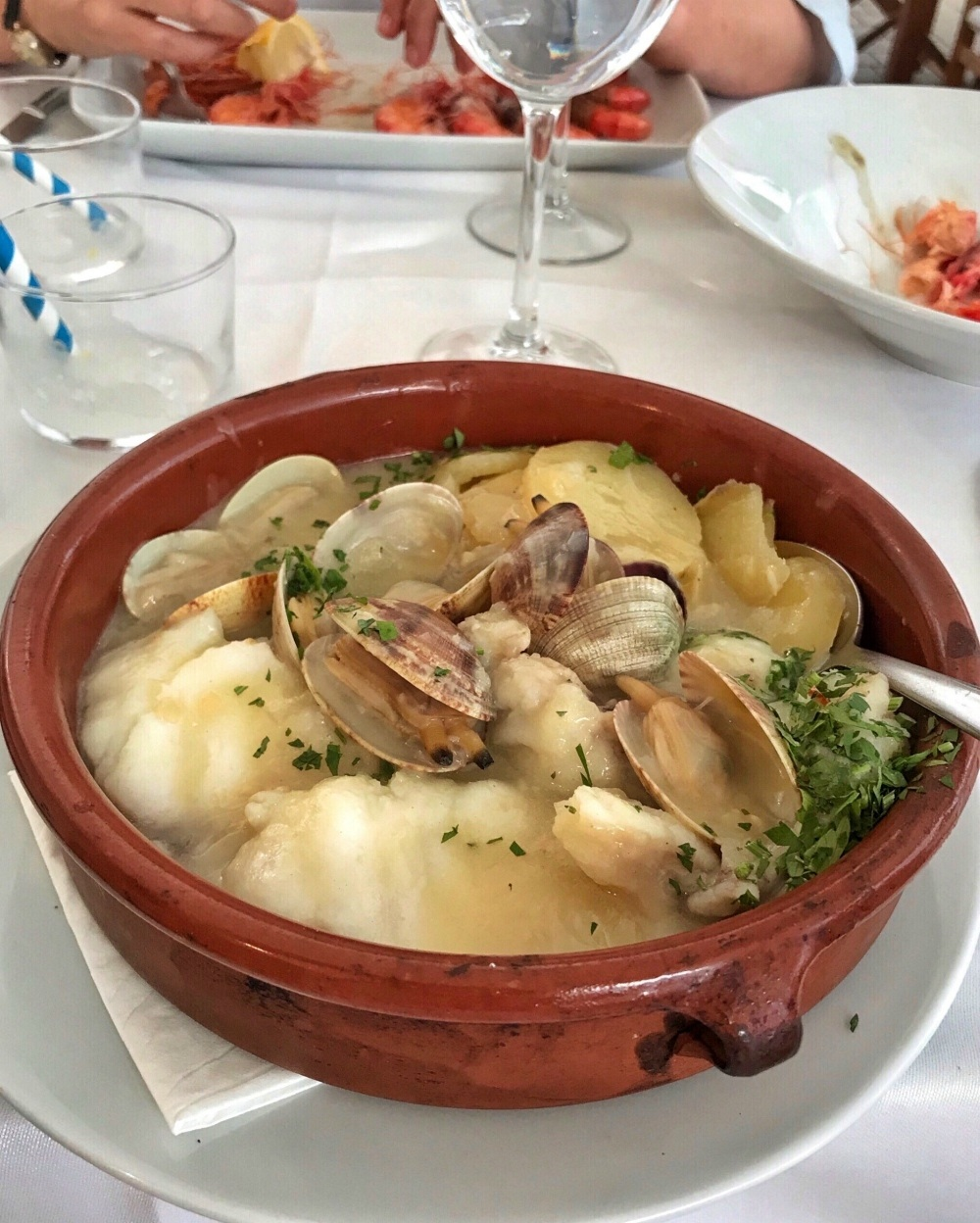 Seafood at S'Amarador in Ciutadella Photo Heatheronhertravels.com
