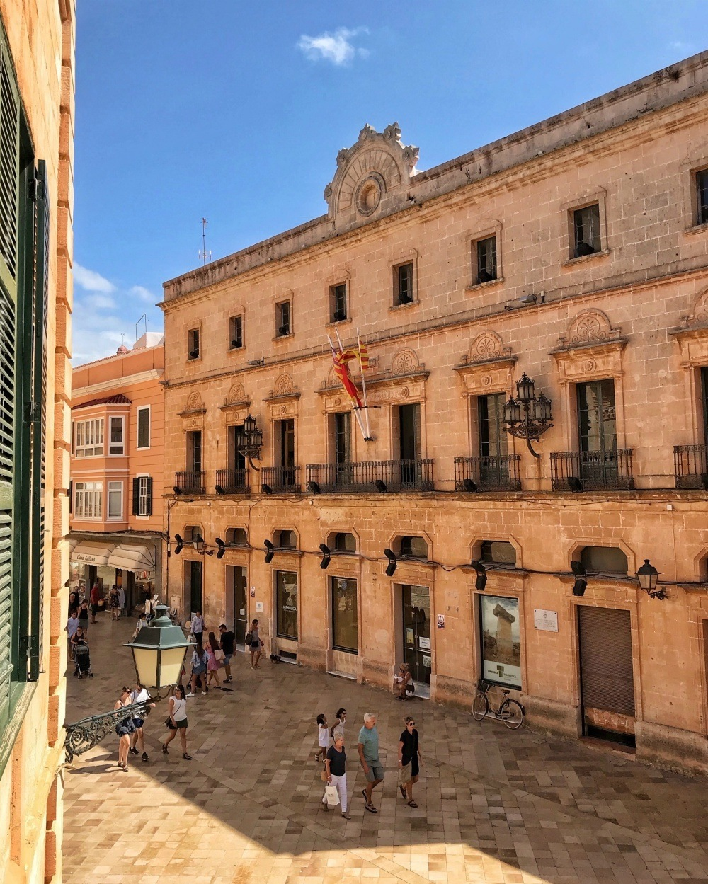 Town Hall Ciutadella Menorca Photo Heatheronhertravels.com