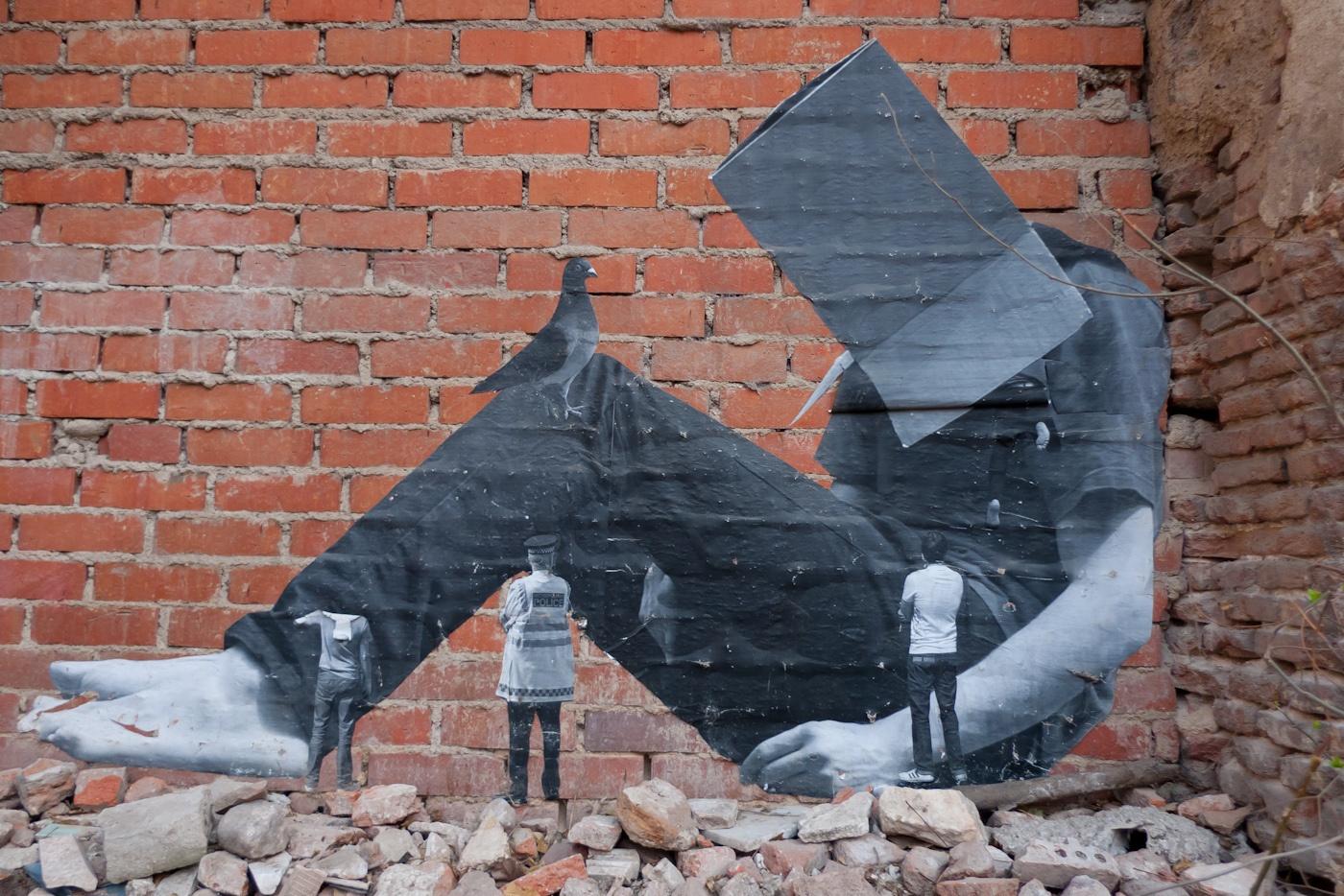 Lavapies Street art r2hox