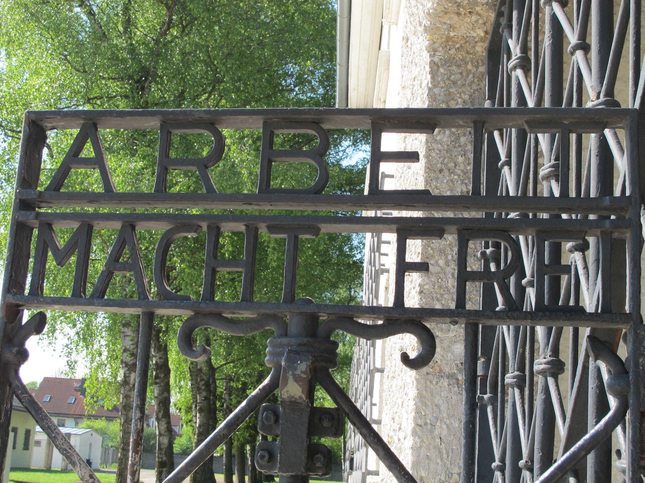 Dachau gates by ho visto nina volare