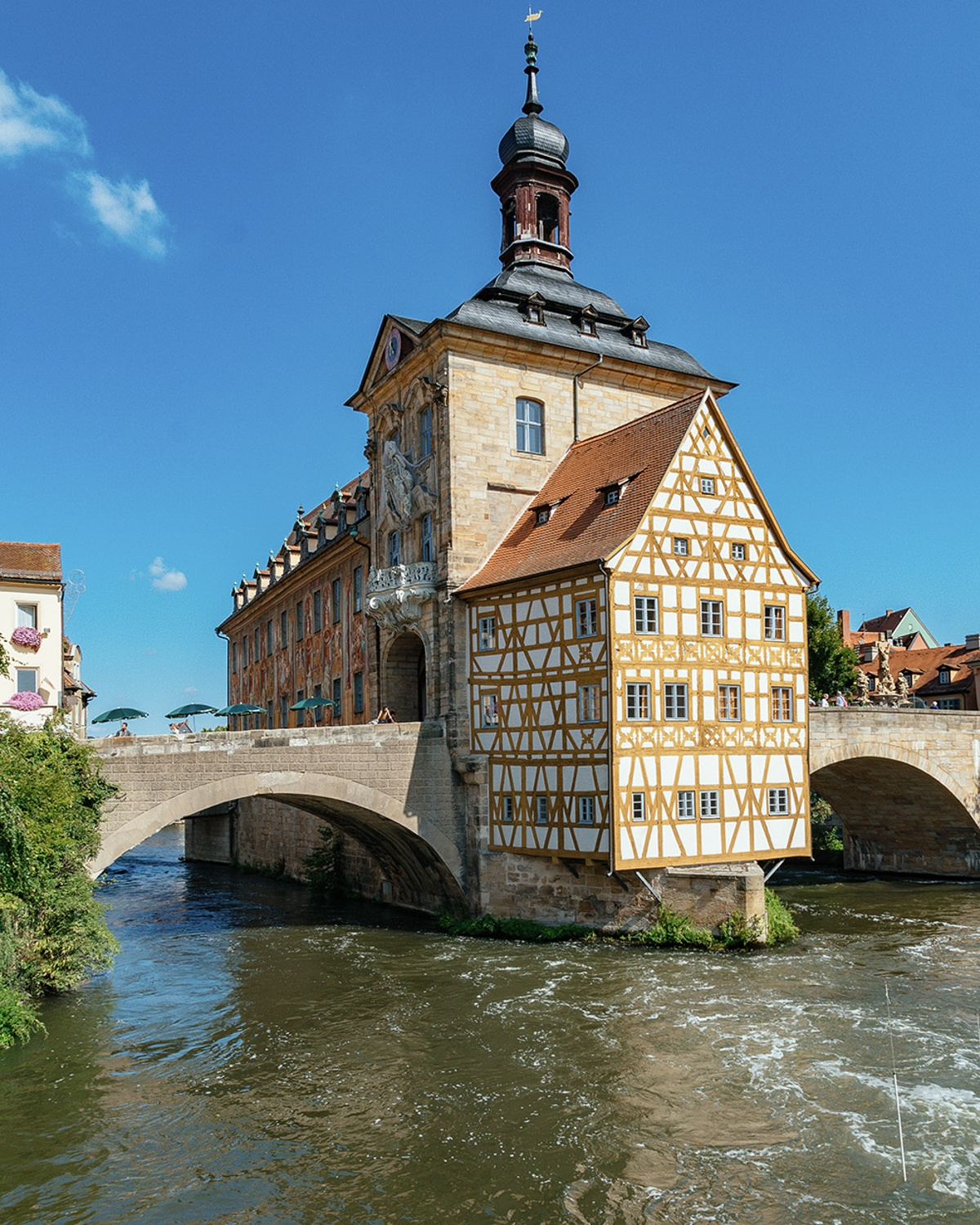 Bamberg City Hall near Munich, Germany Photo: Annees de Pelerinage