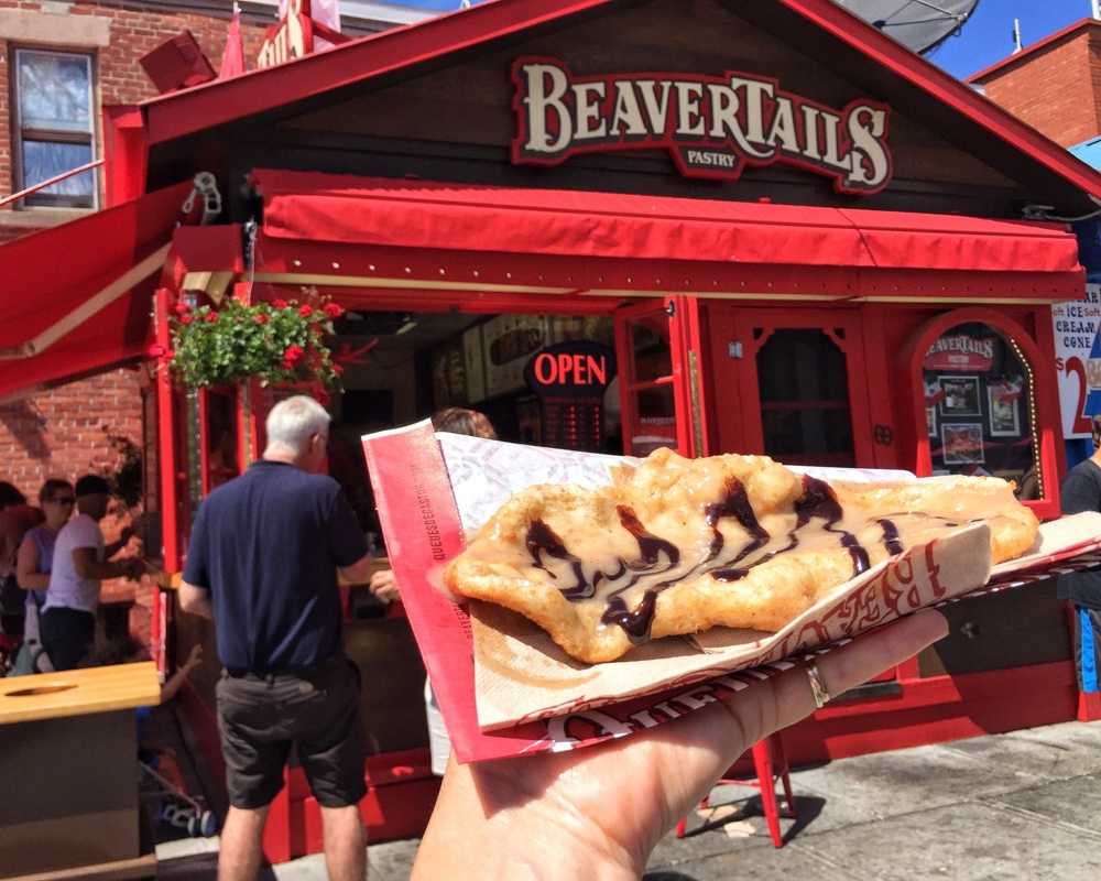 Beavertail in Ottawa, Canada - Photo: Heatheronhertravels.com