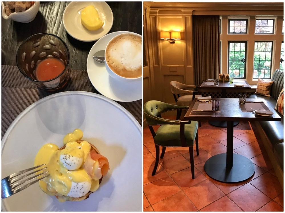 Breakfast at Whatley Manor in the Cotswolds Photo Heatheronhertravels.com