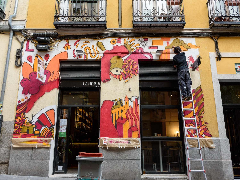 CALLE Lavapies festival by Oscar Guerra