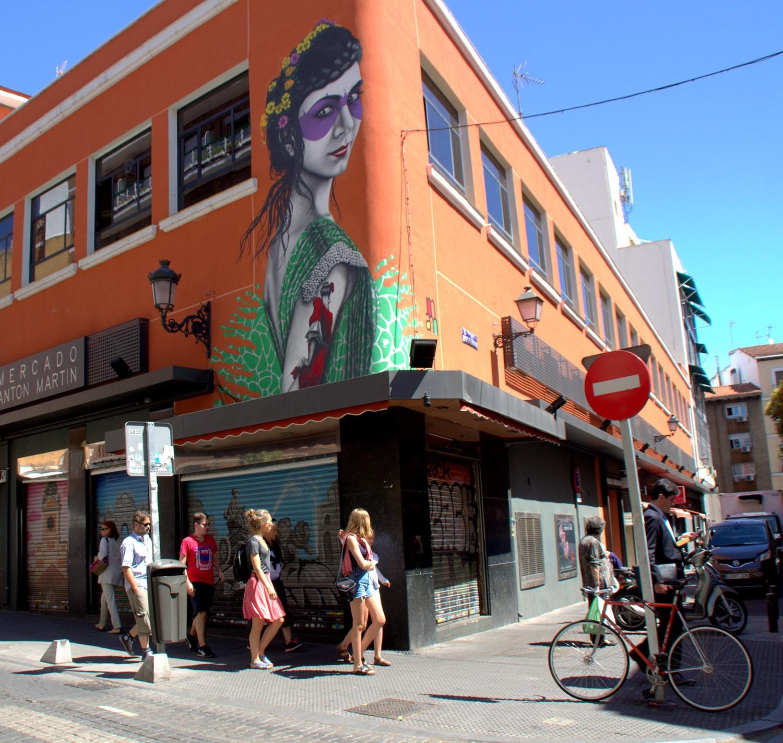 Mercado de Anton MartÌn in Madrid by Manuel M V