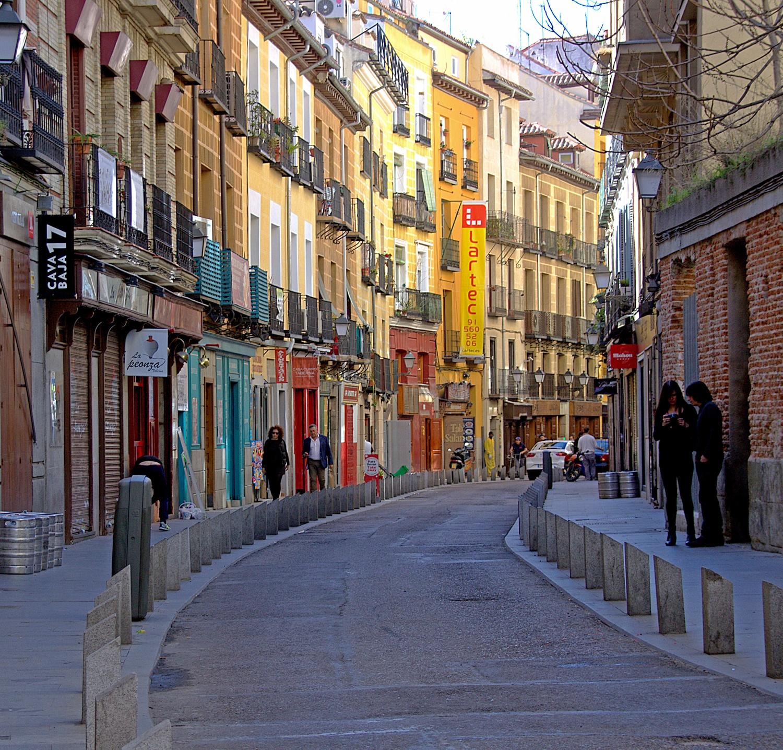 Cava Baja in Madrid by Manuel M V