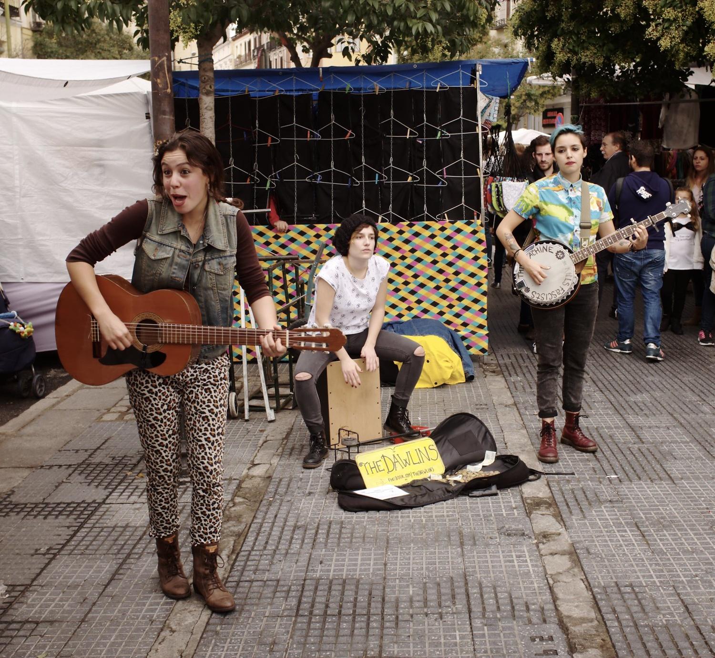 El Rastro flea market in Madrid by Nicolas Vigier