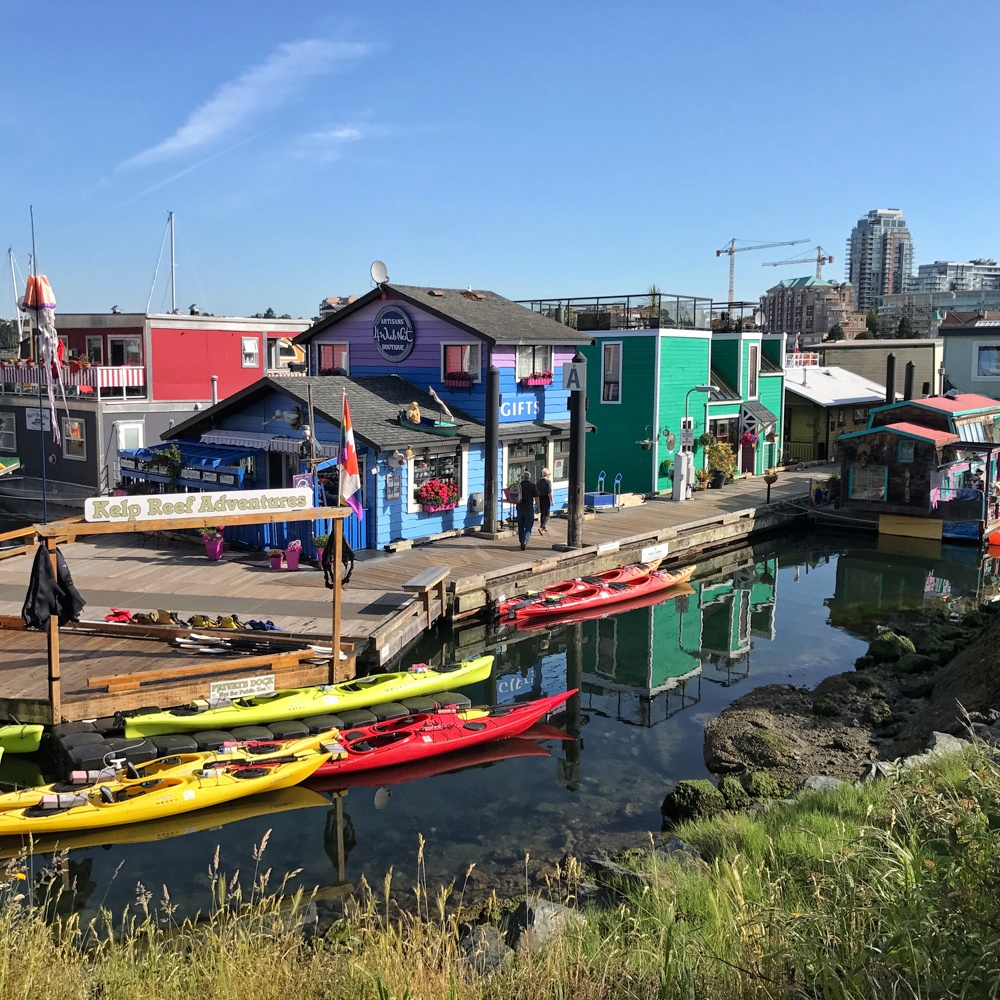 Fisherman's Wharf in Victoria BC Canada Photo: Heatheronhertravels.com