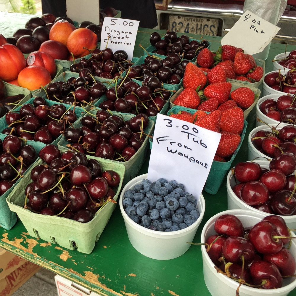 Kingston Farmer's Market in Ontario, Canada - Photo: Heatheronhertravels.com