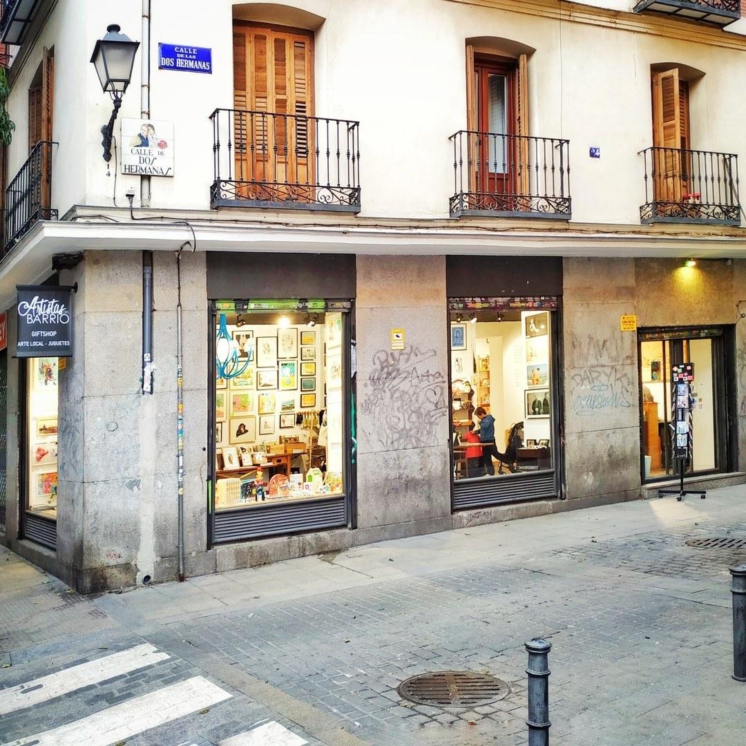 Los Artistas del Barrio shop in Madrid