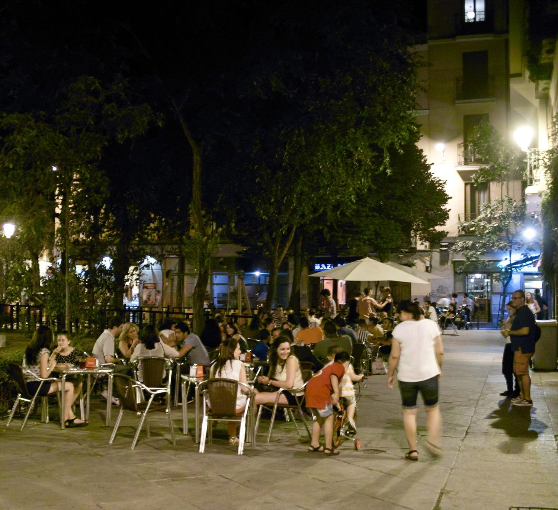 Malasaña nightlife by Nicolas Vigier