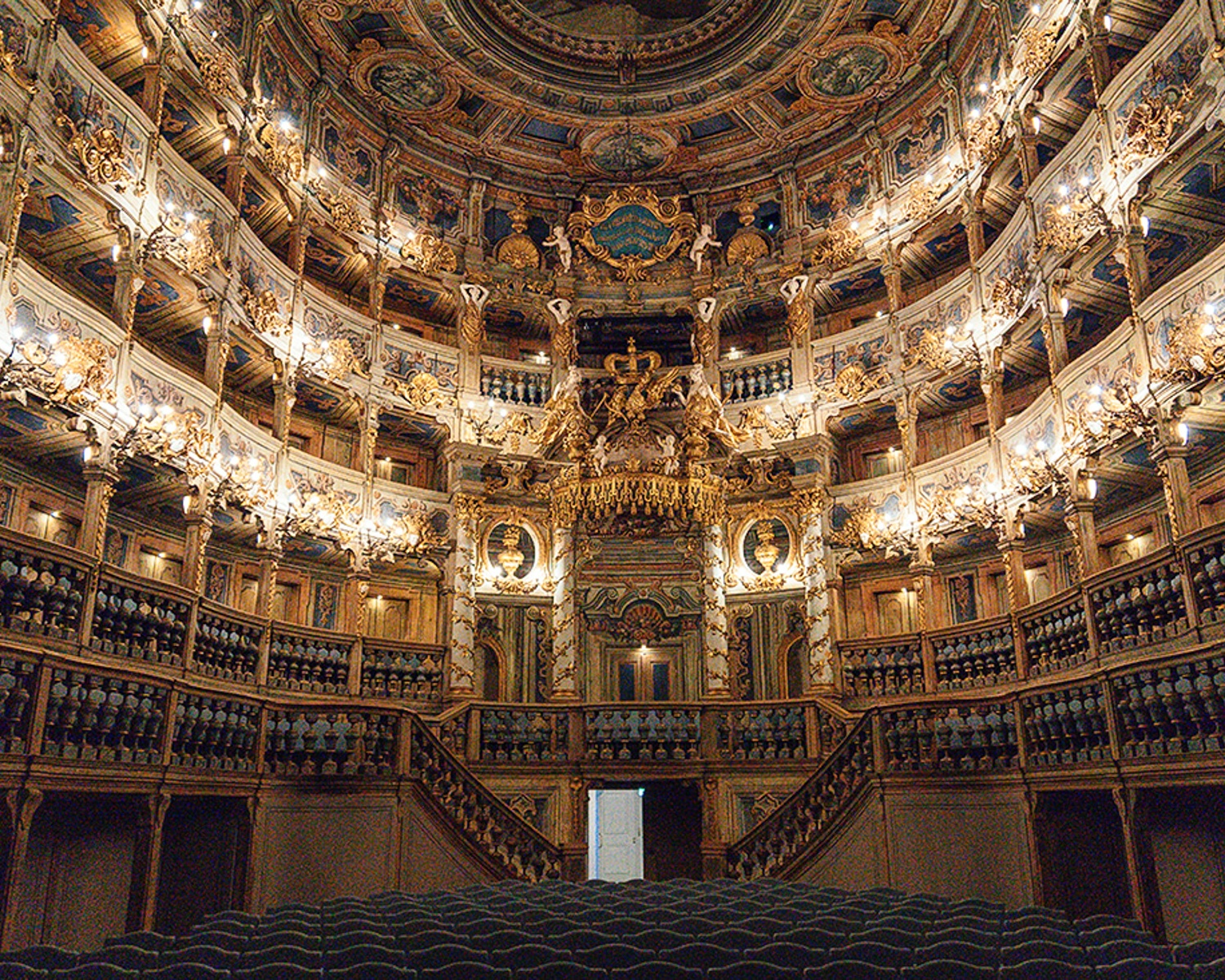 Margravial Opera House Bayreuth Photo: Annees de Pelerinage