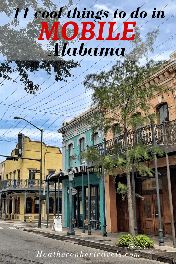 11 cool things to do in Mobile, Alabama USA