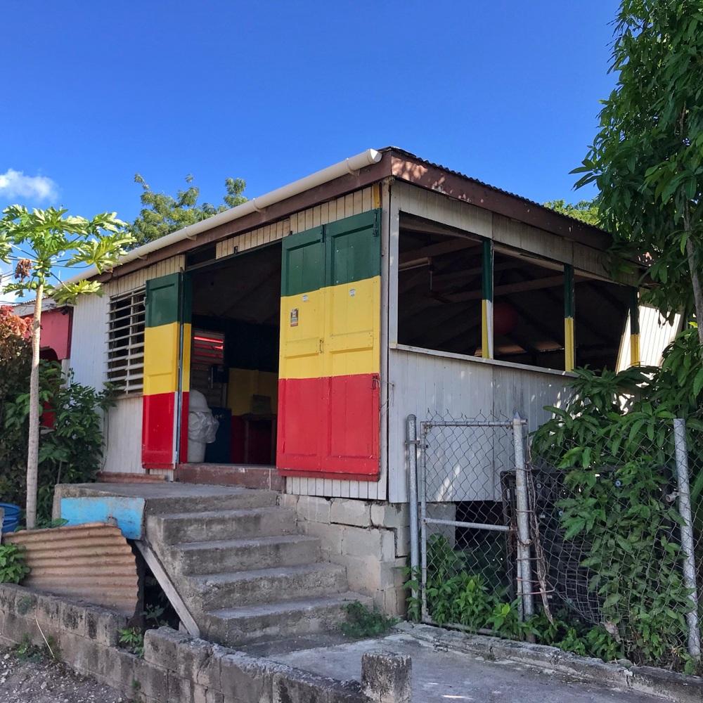 Rasta Shack in Antigua Photo Heatheronhertravels.com