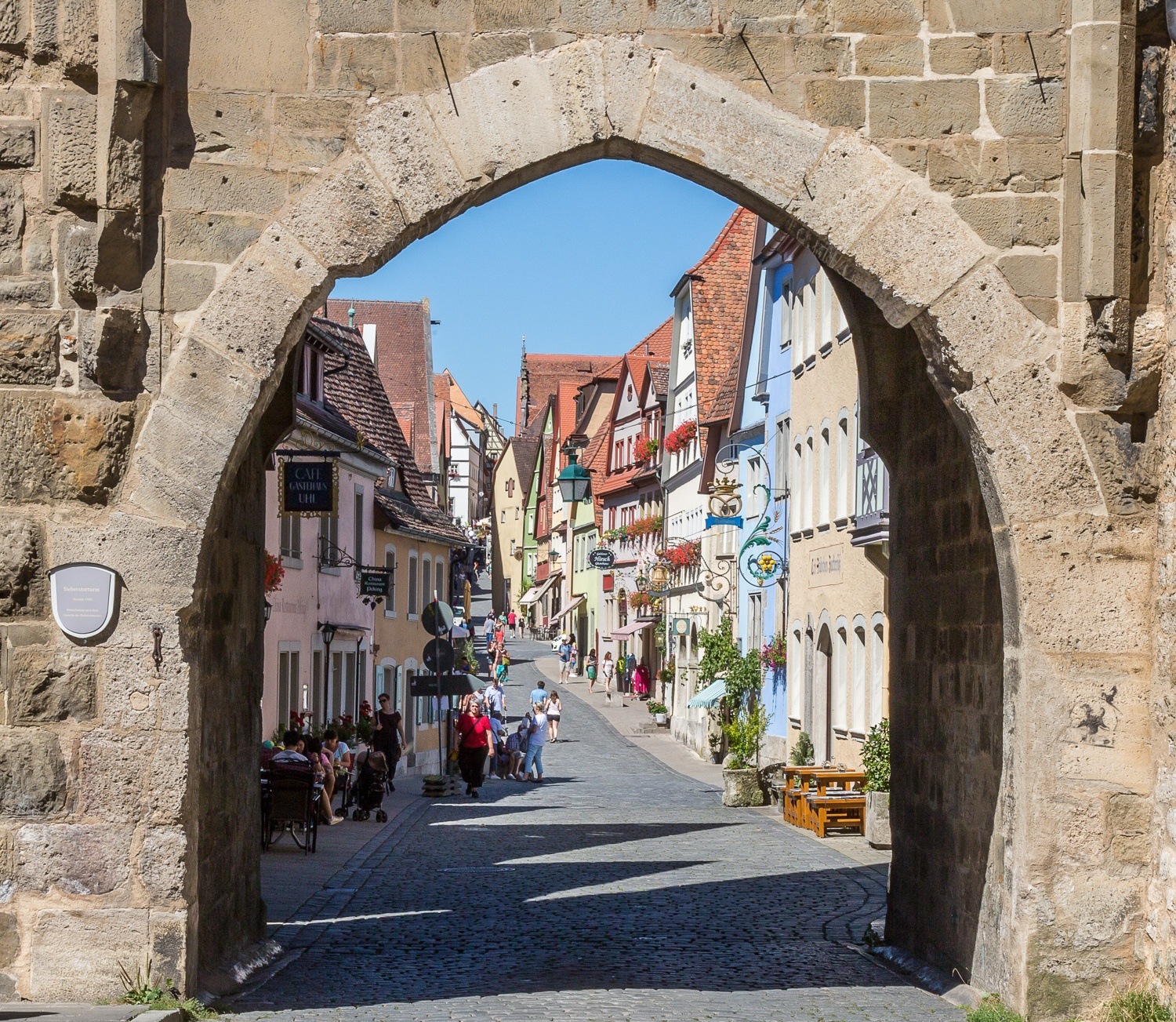Rothenburg ob der Tauber Photo Maxmann on Pixabay