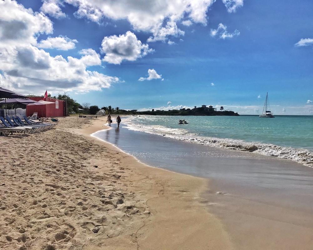 Runaway Beach in Antigua Photo Heatheronhertravels.com