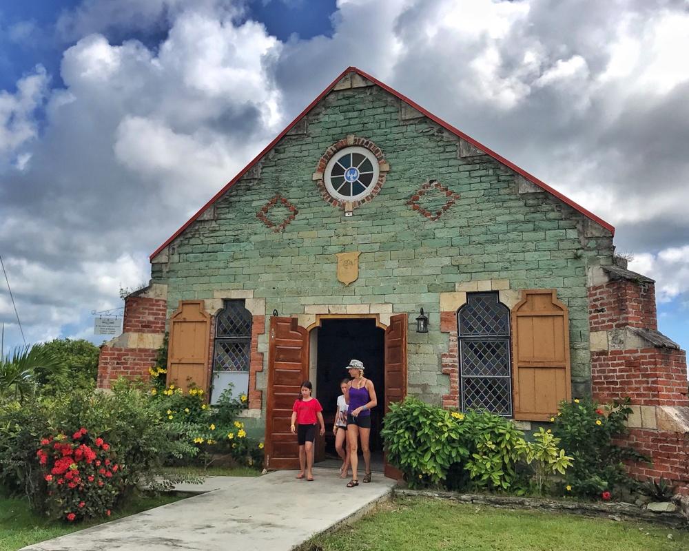 St Barnabas Green Church in Antigua Photo Heatheronhertravels.com