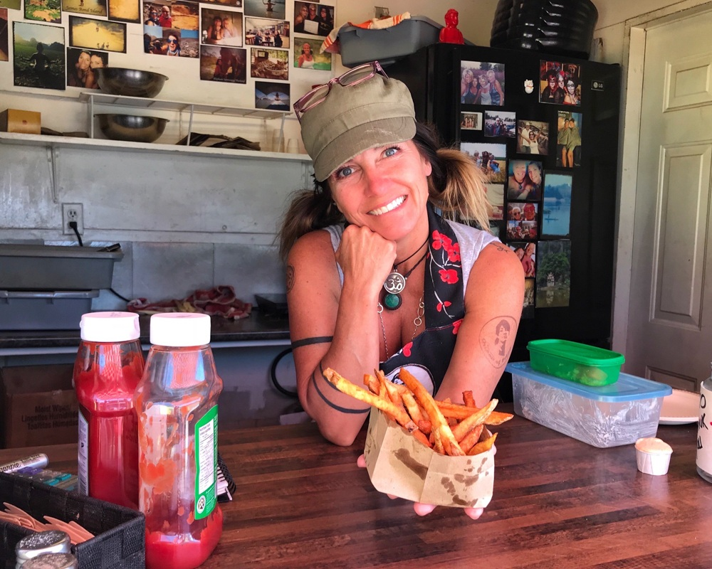 The Chip Shack in Charlottetown - Prince Edward Island in Canada Photo Heatheronhertravels.com