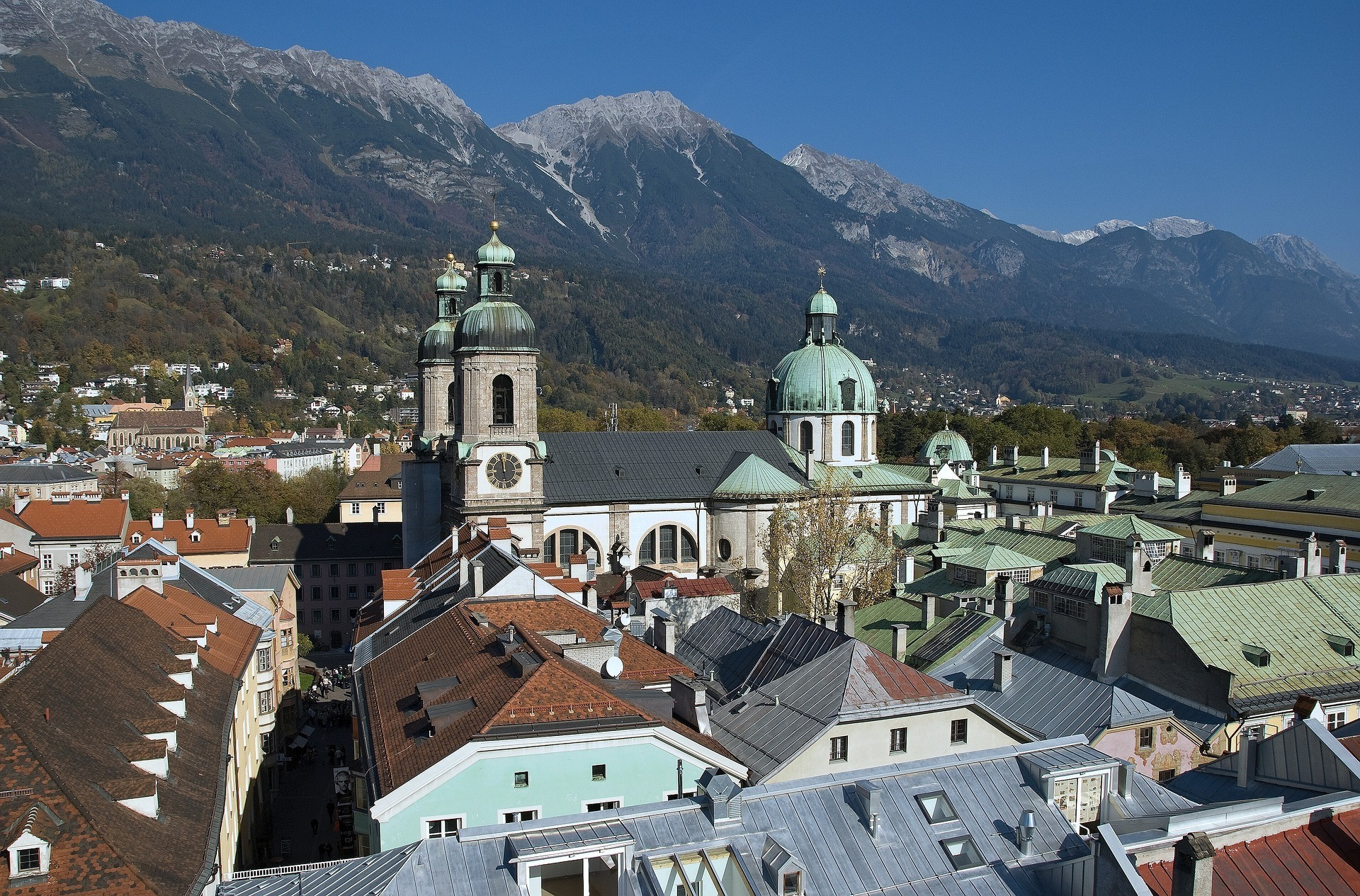Innsbruck in Austria Photo Lichtenfels on Pixabay