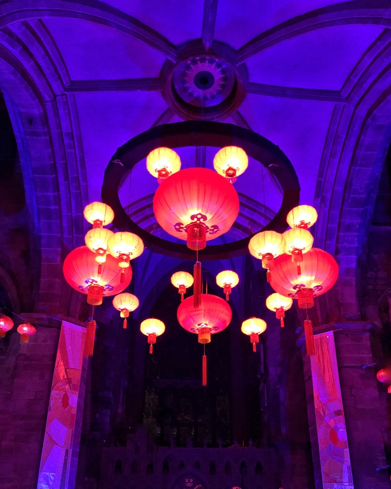Burn and Beyond Chinese Lanterns at St Giles Cathedral Edinburgh Photo Heatheronhertravels.com