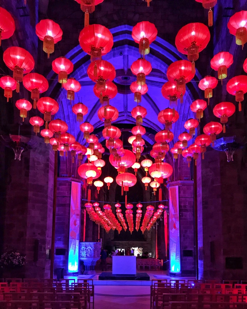Burn and Beyond Chinese Lanterns at St Giles Cathedral Edinburgh