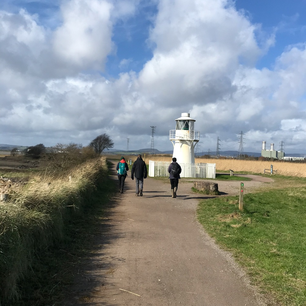 East Usk Lighthouse Newport Wetlands Wales Photo Heatheronhertravels.com