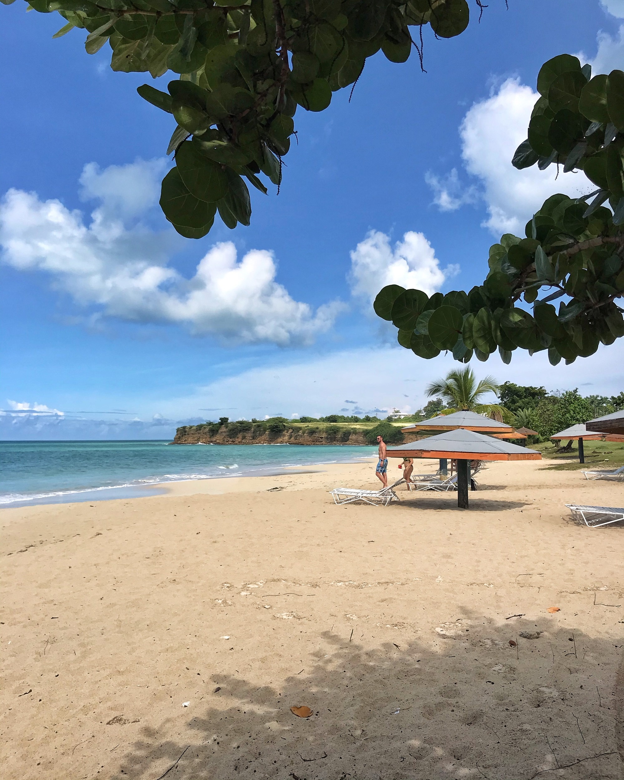 Fort James Beach in Antigua Photo Heatheronhertravels.com
