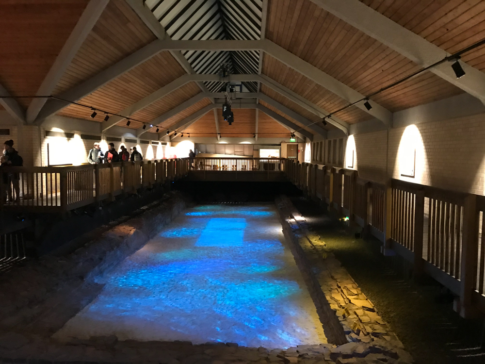 Roman Baths at Caerleon Photo: Heatheronhertravels.com