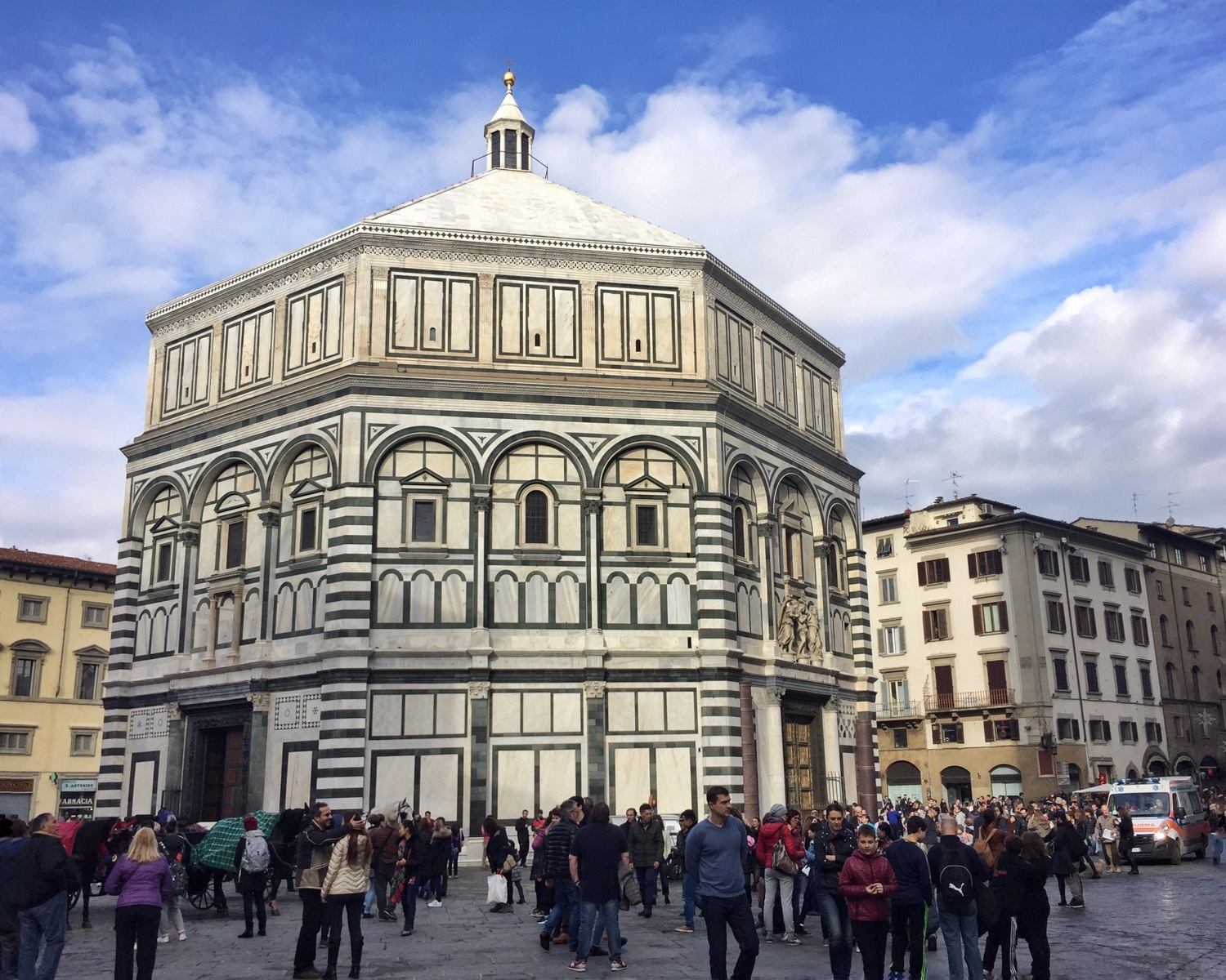 Baptistry in Florence Photo Heatheronhertravels.com
