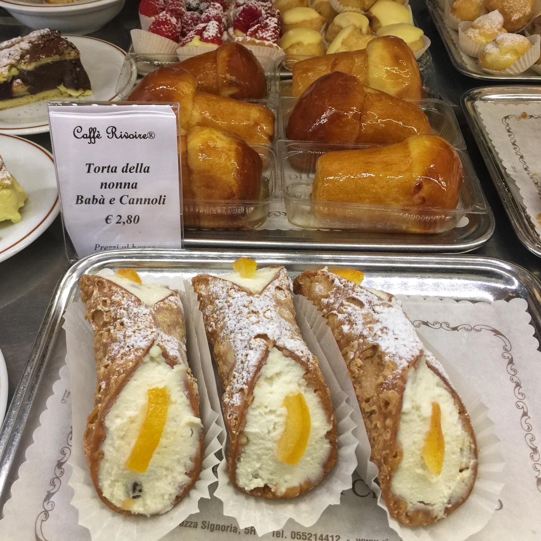 Café Rivoire Florence, Italy Photo Heatheronhertravels.com