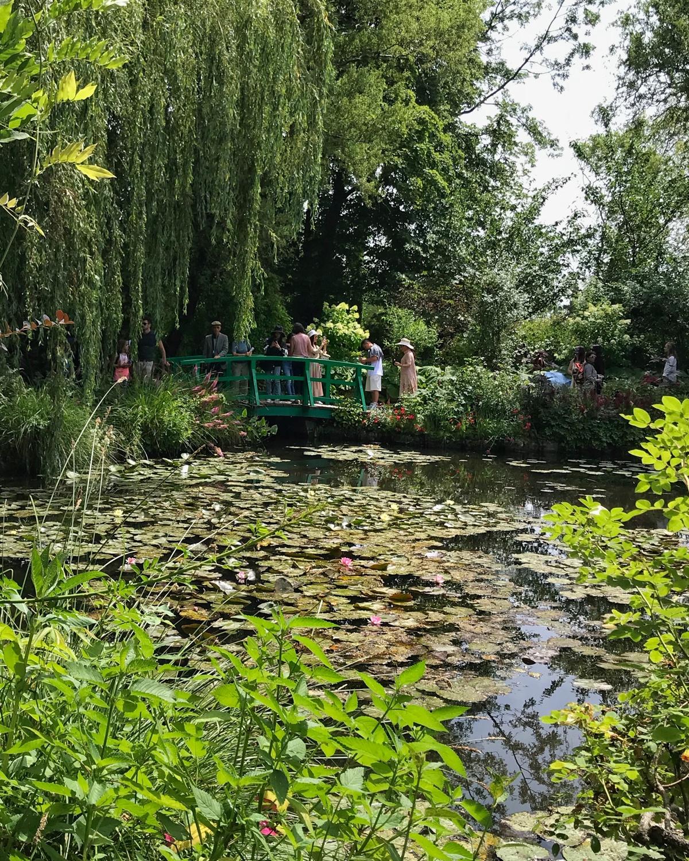 Monet Water Garden in Giverny Photo Heatheronhertravels.com
