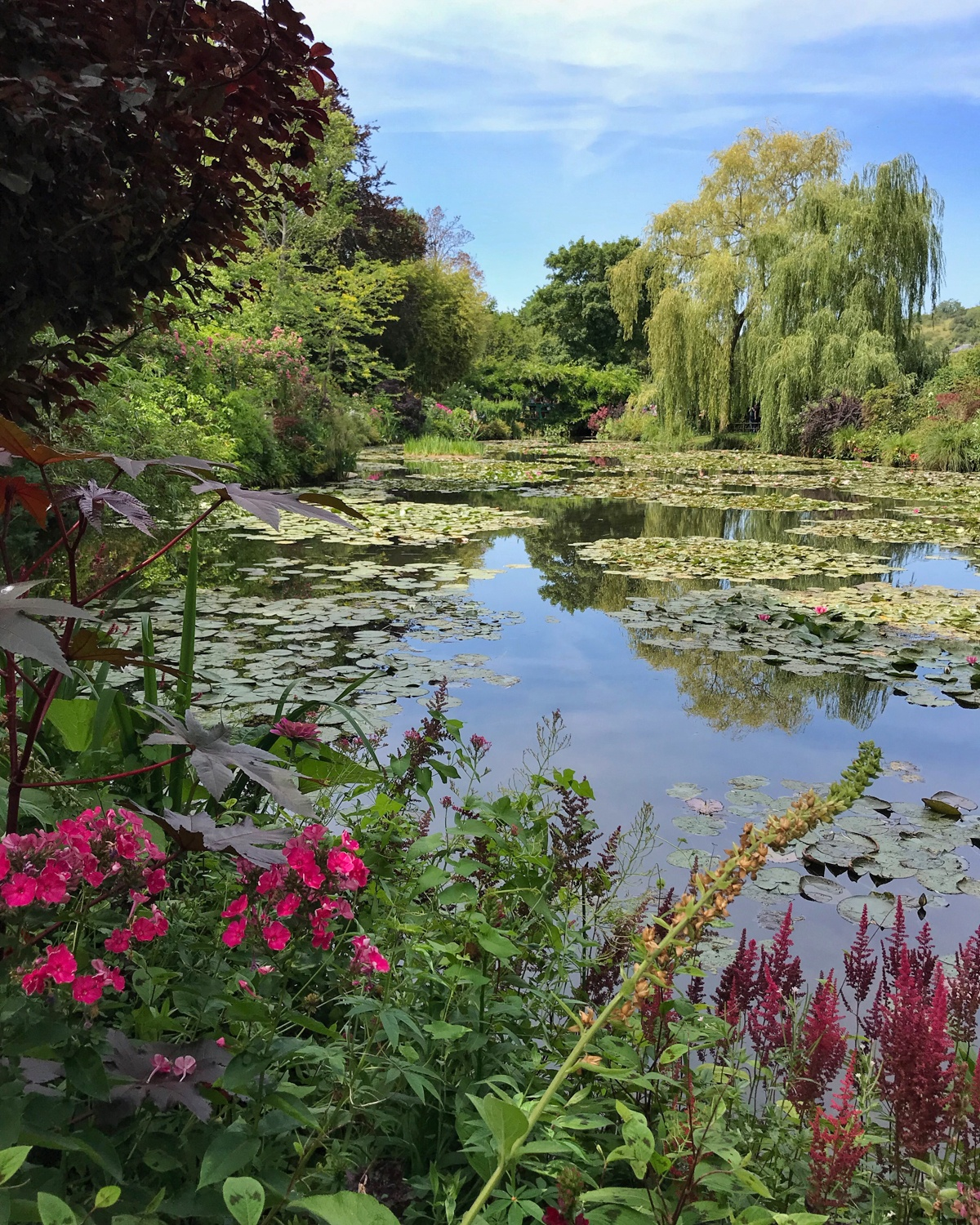 Claude Monet Water Lilies in Giverny Photo Heatheronhertravels.com