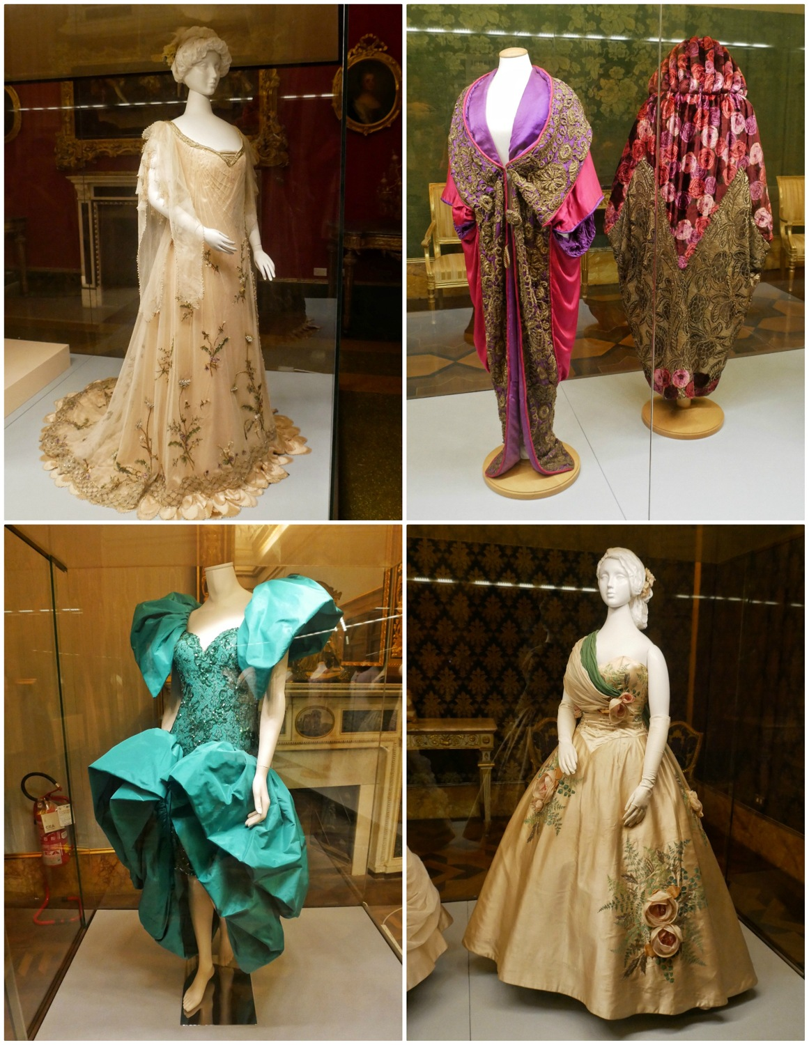 Fashion museum in Pitti Palace in Florence, Italy Photo Heatheronhertravels.com